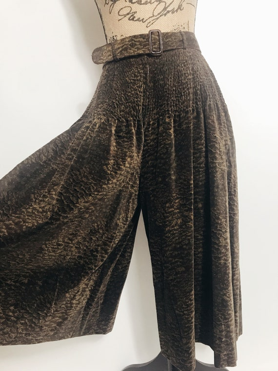 Vintage Giorgio Armani High Waist  Culottes, Wide