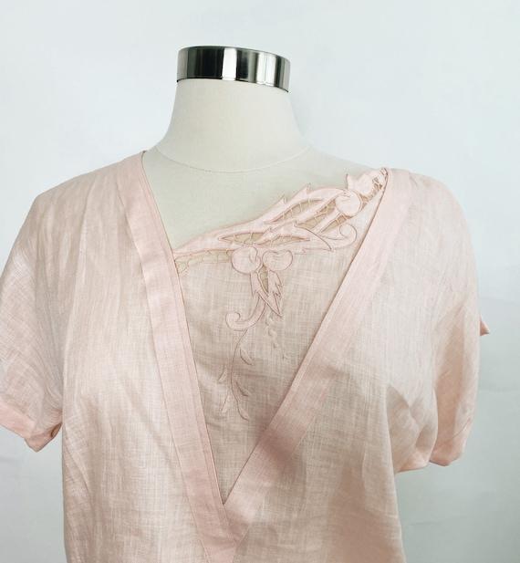 Vintage Gucci Linen Top, 1970s - image 1