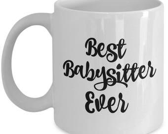 Best Babysitter Ever Mug