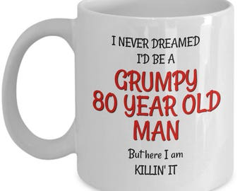 Best 80th Birthday Mug For Men