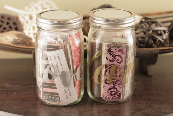 365 Days Love Notes Jar Love Quotes Reasons Why I Love Etsy