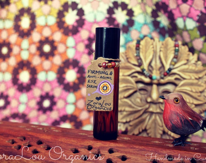 Firming & Revitalising Eye Serum with Frankincense, Myrrh, Sandalwood and Vanilla
