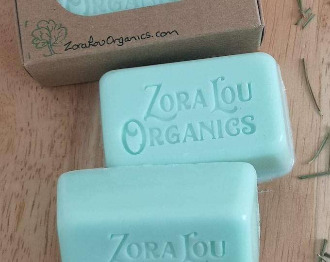 Pine Needle organic soap mosturising bar