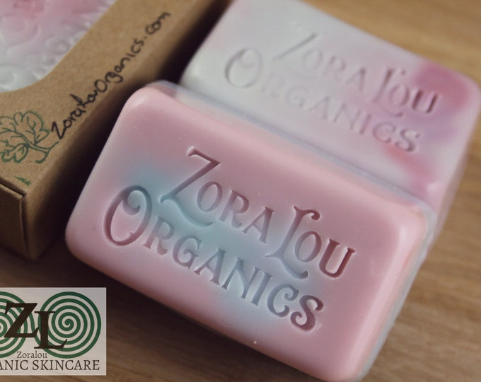 Star Child 3 in 1 shampoo & conditioning soap bar with organic sweet, relaxing Roman Chamomile, French Lavender and soothing Aloe