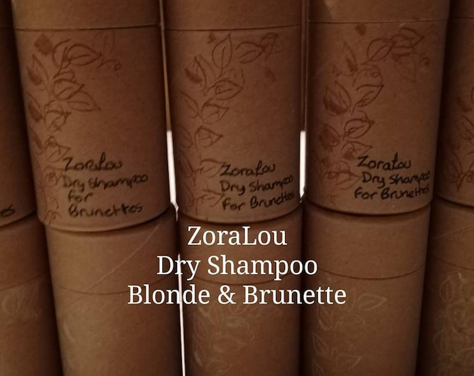 Dry Shampoo Shakers with Aluminium free Baking Soda, Arrowroot Powder, Kaolin Clay & organic essential oils