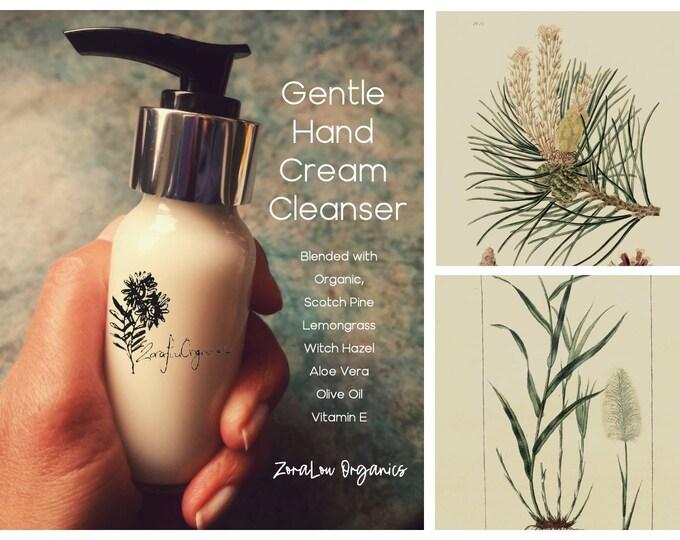 Gentle Hand Cream Cleanser (organic) alcohol free
