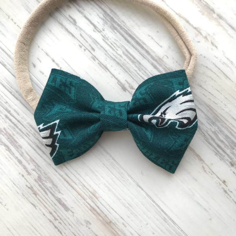 93a49b7b361e EAGLES Bow for Kids Philadelphia Eagles Baby Gift Philly | Etsy