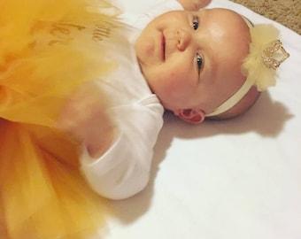 Gold Crown Headband- Newborn Crown; Newborn Baby Crown; Princess Crown; Rhinestone Crown; Birthday Crown; Baby Crown Headband; Photo Prop