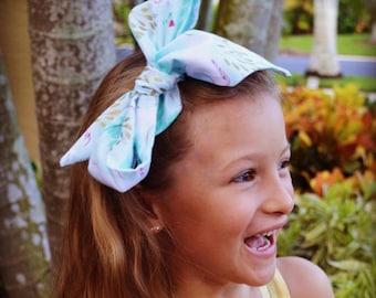 Unicorn Headwrap- Headwrap; Unicorn Head Wrap; Baby Head Wrap; Baby Headwrap; Head Wrap; Big Bow Headwrap; Girls Headwrap; Toddler Headwrap