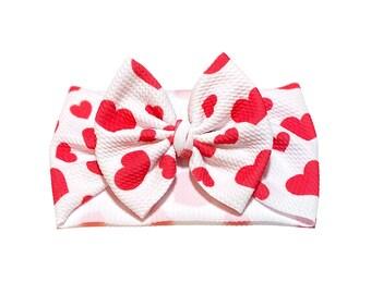 Valentine\u2019s Day Pinwheel Bow