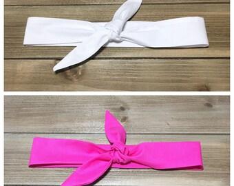 Bachelorette Party Headband- Bachelorette Party Favor Bridesmaids Headband Bride Headband Bachelorette Party Favors Tie Knot Headbands