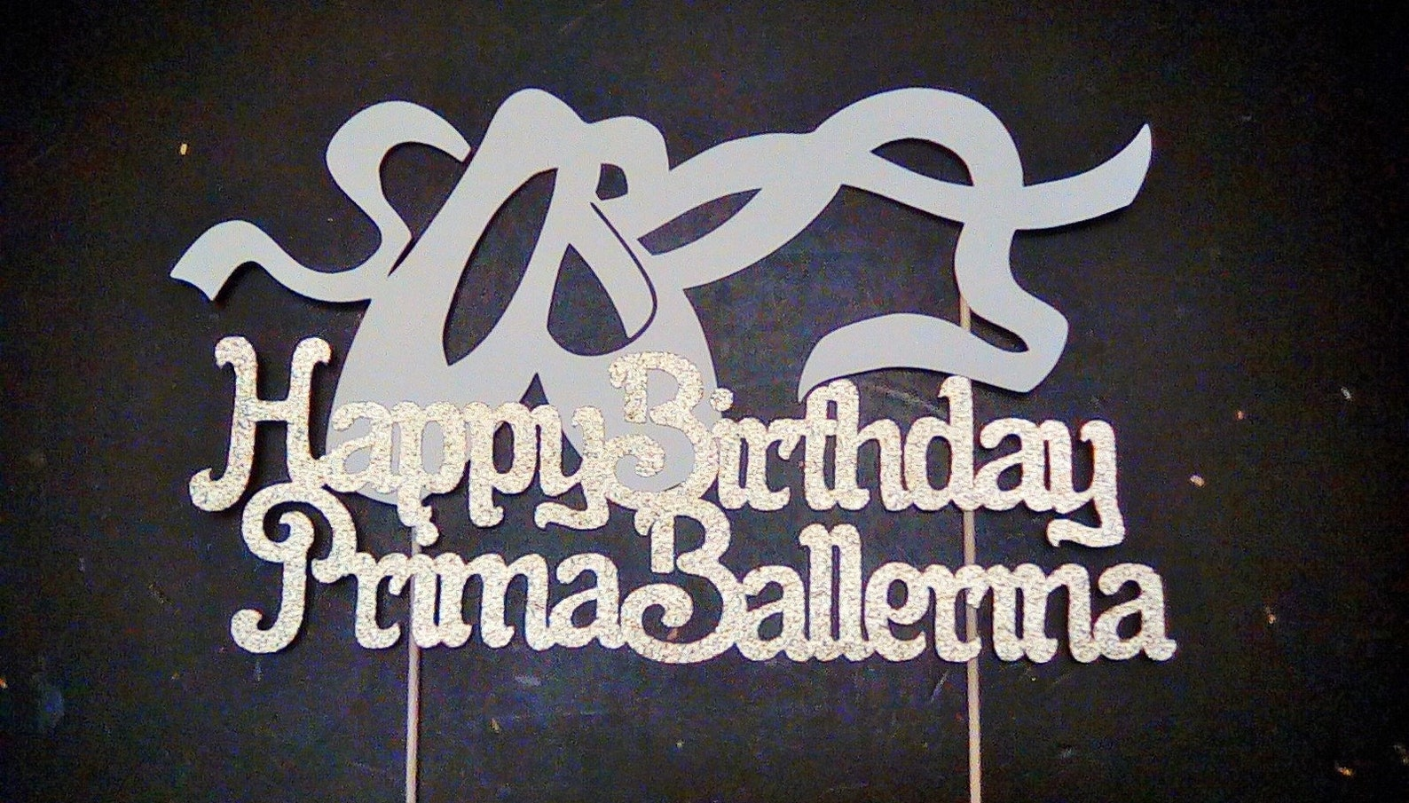 ballet cake topper | ballerina birthday | dance party