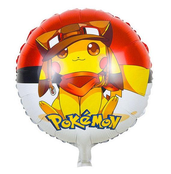 "29/""BIG BULBASAUR Pokemon Balloons Pikachu /& Friends Birthday Party Supplies lot"