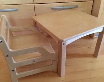 CHAIR and TABLE Montessori