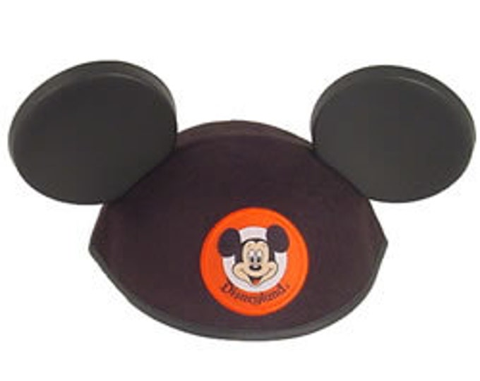 Adult Personalized Disneyland Mickey Mouse Ear Hat - Black