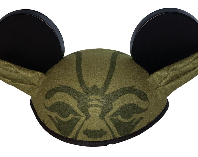 Personalized Yoda Star Wars Mickey Mouse Ear Hat