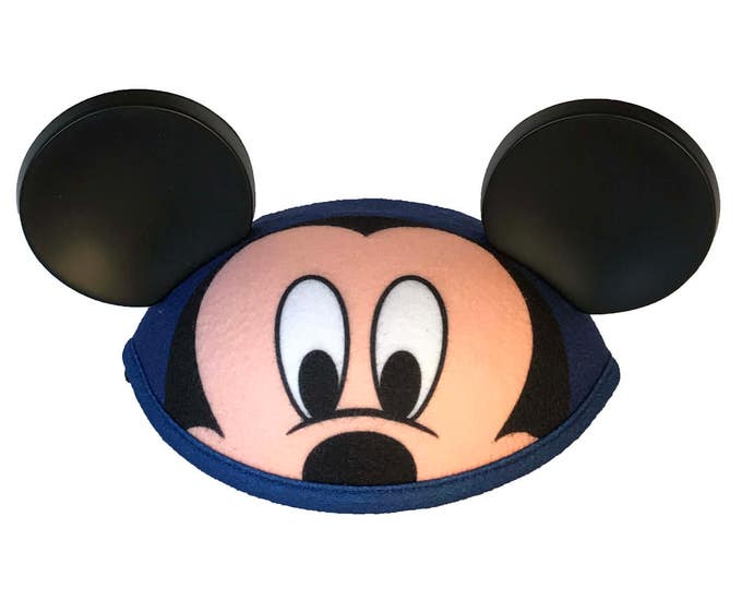 Personalized Toddler Mickey Mouse Face Ear Hat