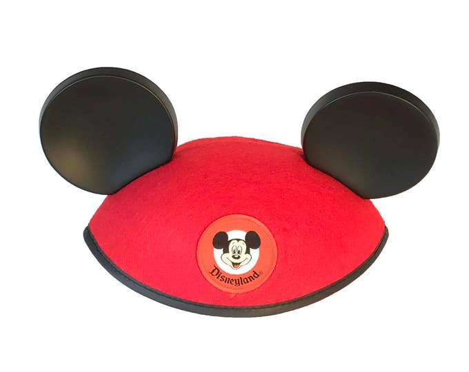 Personalized Disneyland Infant Red Mickey Mouse Ear Hat