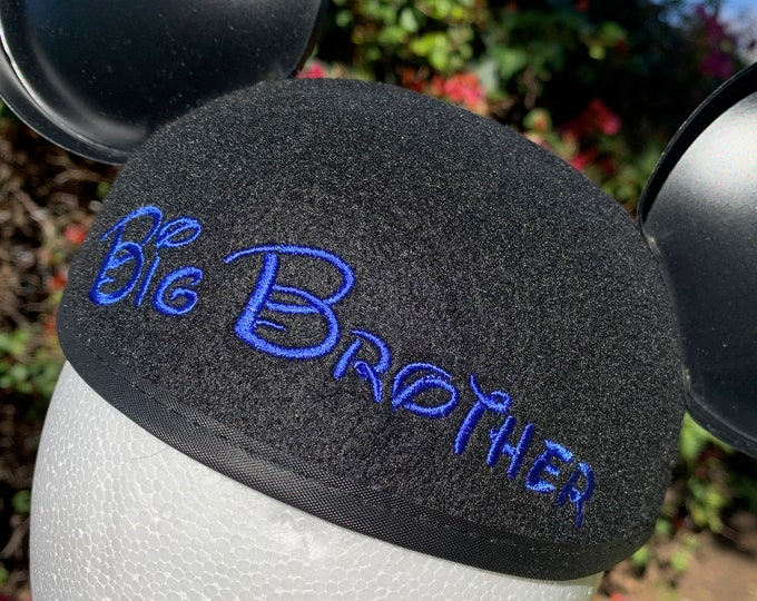 Big Brother Mickey Mouse Ear Hat