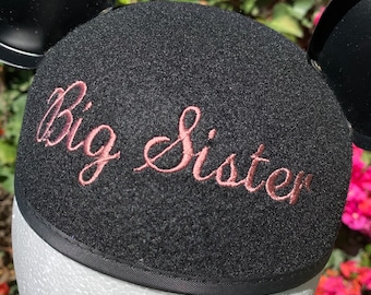 Big Sister Mickey Mouse Ear Hat