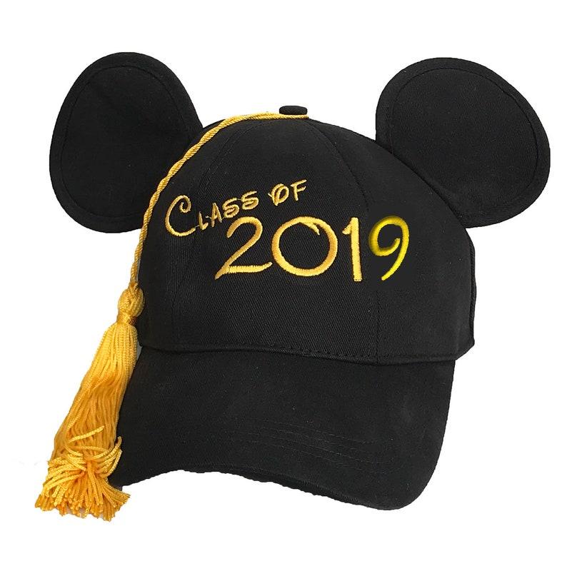 Classe di 2019 laurea Topolino Cappellino con nappa  b0bc80174118