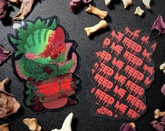 """Little Shop of Horrors Audrey 2 3"""" Sticker"""