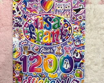 Outstanding Vintage Birthday Party Supplies Cake 1980S 8 Lisa Frank Small Funny Birthday Cards Online Alyptdamsfinfo