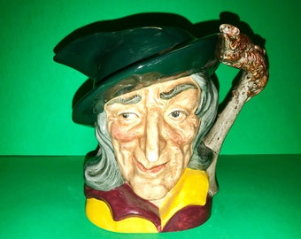 1953 Royal Doulton The Pied Piper Toby Jug Pitcher D6403