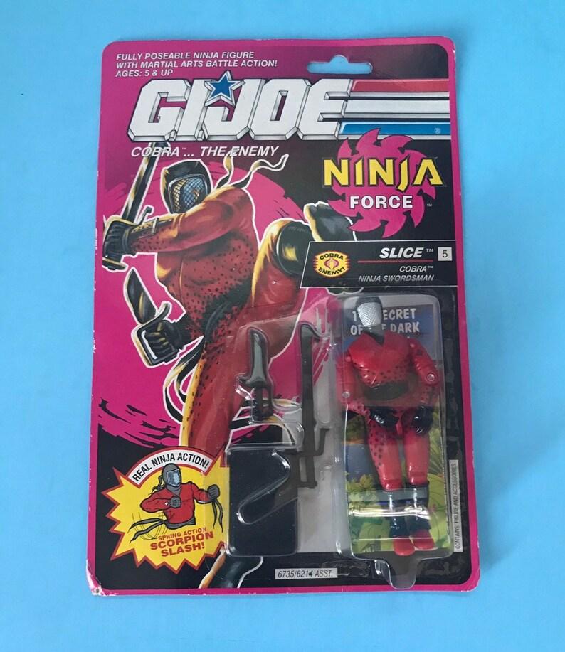 1991 G I Joe Ninja Force Action Figure SLICE New in Package