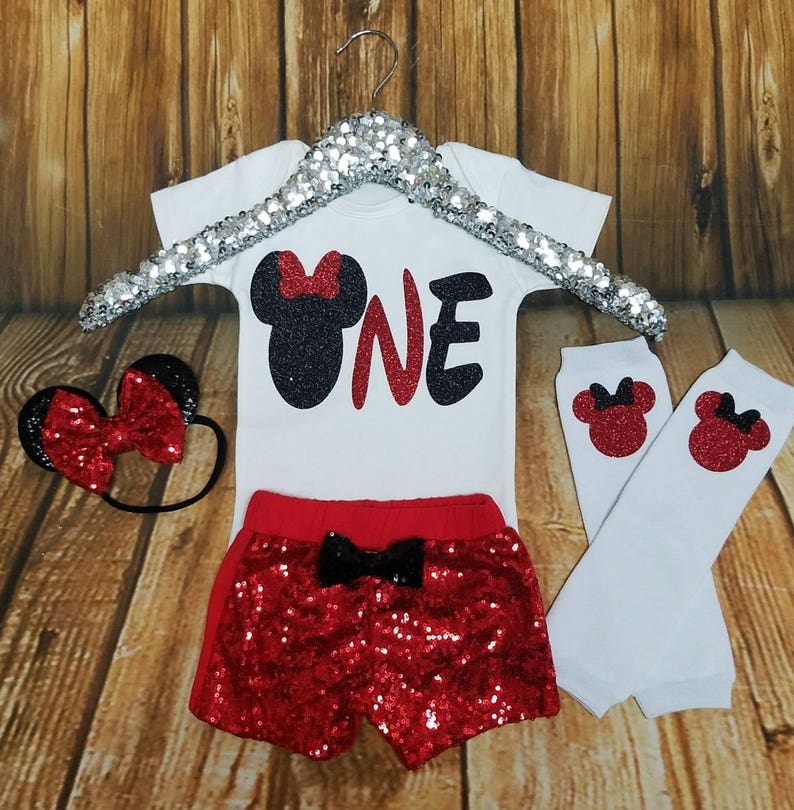 7a3b9c1d2 One Minnie Mouse FIRST Birthday Minnie Mouse Party Turning One | Etsy
