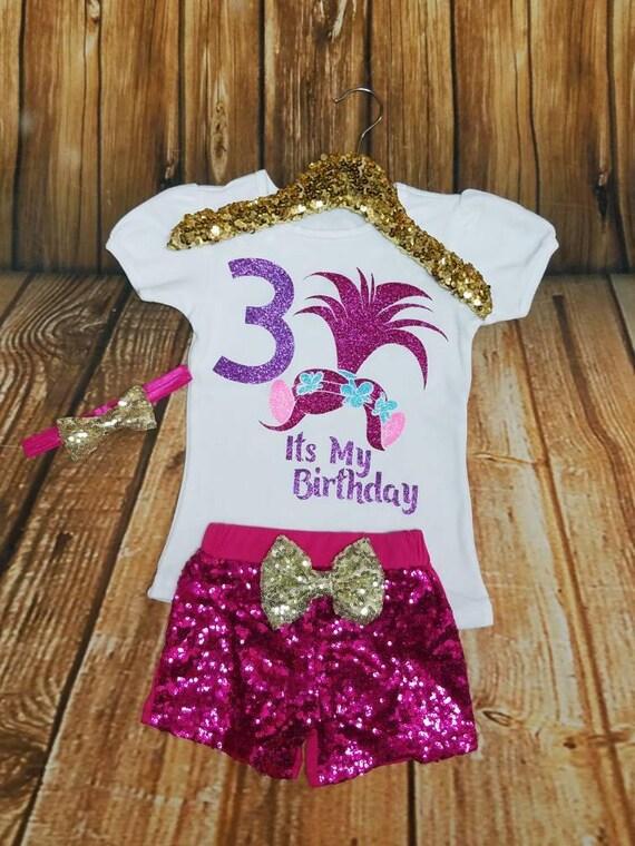 d51abbe4 Troll Birthday Troll Birthday Shirt Troll Bodysuit | Etsy