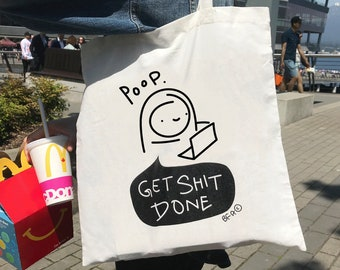 Limited Edition Poop Tote