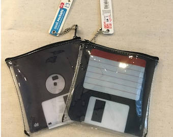 Novelty Floppy Disk Pouch