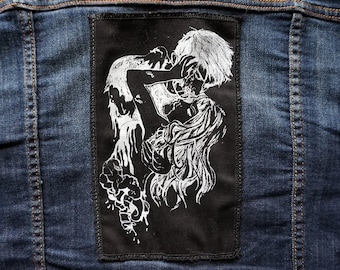 Necromantic Screen Printed Patches
