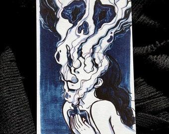 Poison - Inktober // Mini Print