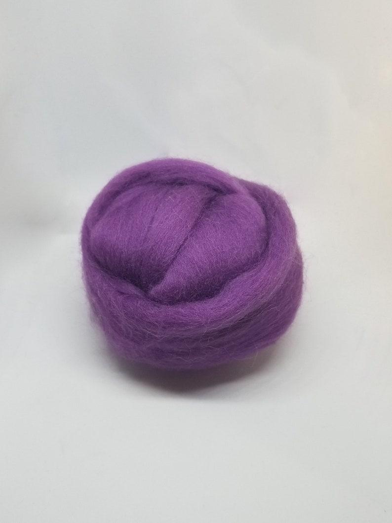 Merino Wool Roving for Felting 1 Ounce Mint