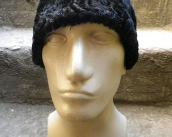 amtique  fur persian lamb hat