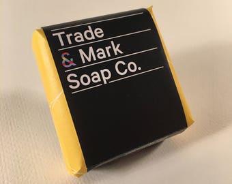 Natural Handmade Bar Soap ( Citrus Mist)
