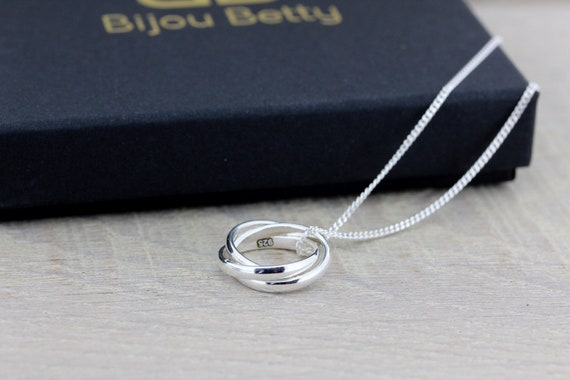 30th Birthday Silver Necklace