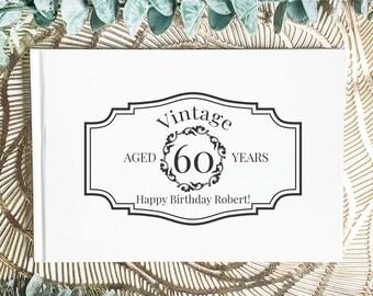 Vintage lace guest book 30x30