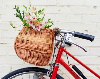 Free Ship Cruiser Rose Candy Hawaiian vélo panier Liner