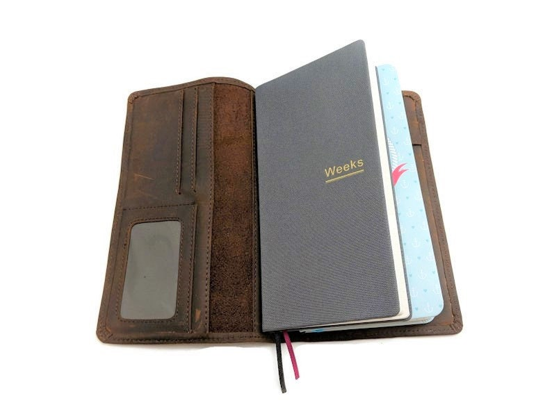 Hobonichi Double Weeks Mega Cover / B6 Slim Travelers Notebook image 0
