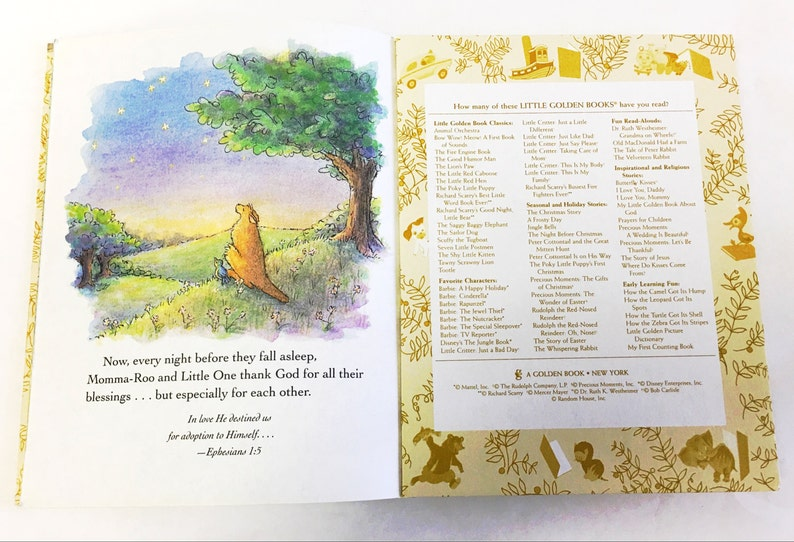 FIRST EDITION  Little Golden Book  A Blessing from Above  Lgb  By Patti  Henderson  Easter Basket stuffer for toddlers  Vintage Book