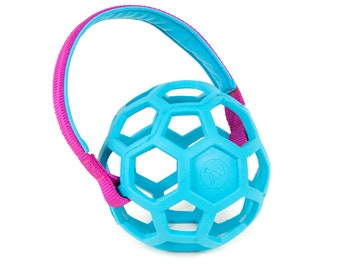 JW Pet Hol-EE Roller with handle 2 points