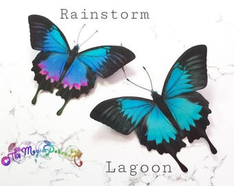 Tropical Ulysses Butterfly 3D wall decal decoration/sticker