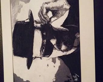 Walter (Heisenberg) White drawing