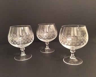 Rosenthal Romance Brandy Cognac Snifter Crystal Glasses