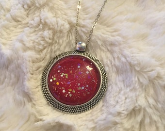 Galaxy Pendant - Love that Red!
