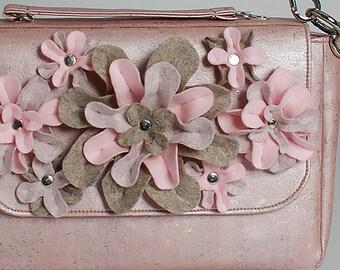 Rose Gold Cork Bag *Liv*