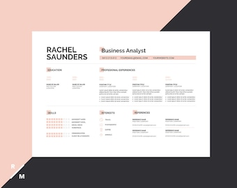 Creative Resume Cv Templates For Microsoft Word By